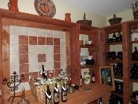 The Brent Manor Vineyards Wine Cellar